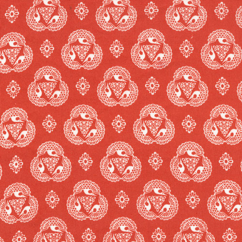 ...and Old Lace | Vermillion :: Tsuru by Rashida Coleman-Hale for Cloud9 Fabrics
