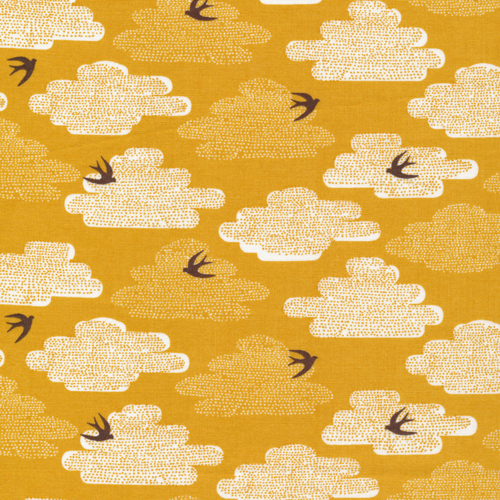 Free As A Bird | Pollen:: Up, Up & Away by Skinny laMinx for Cloud9 Fabrics