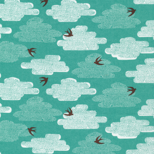 Free As A Bird | Blue Moon:: Up, Up & Away by Skinny laMinx for Cloud9 Fabrics