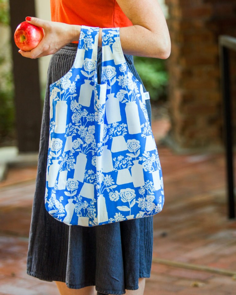 """Tote with Zip Pouch"" Free Pattern designed & from Cloud 9 Fabrics"