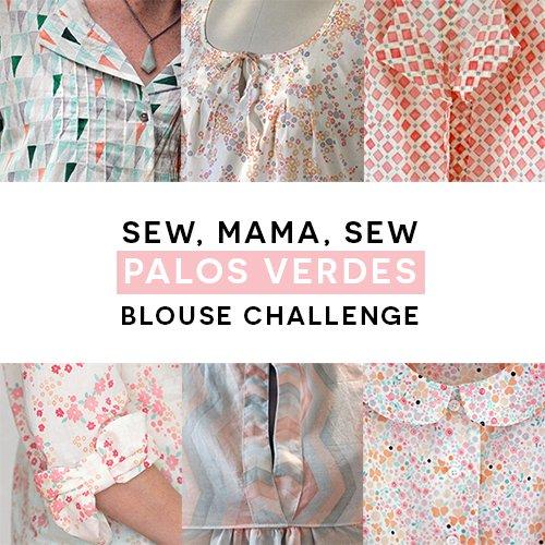 Palos Verdes | Sew Mama Sew Blouse Challenge
