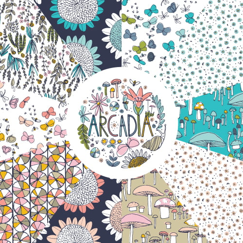 Arcadia by Sarah Watson for Cloud9 Fabrics