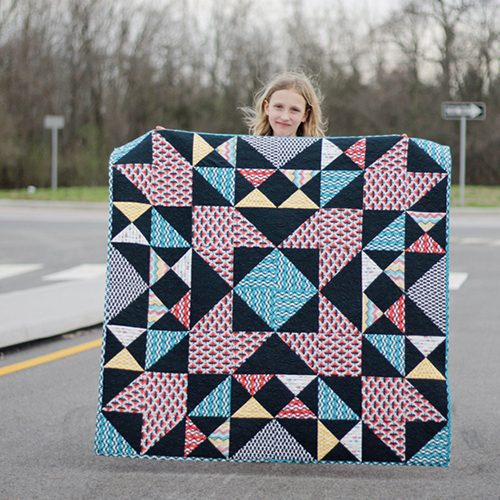 Enchanted Blast Quilt by Rachel Gander for Pellon
