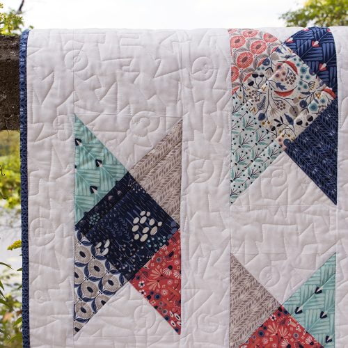 Fieldcrossing Quilt detail